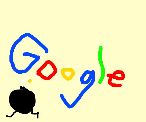 a bomb exits google