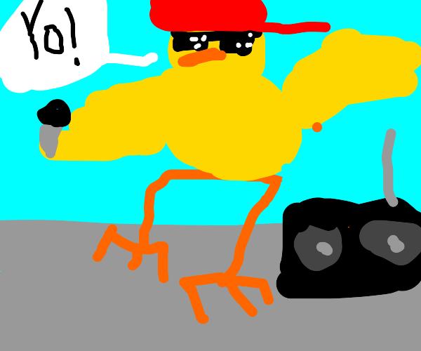 Duck rapper sensation