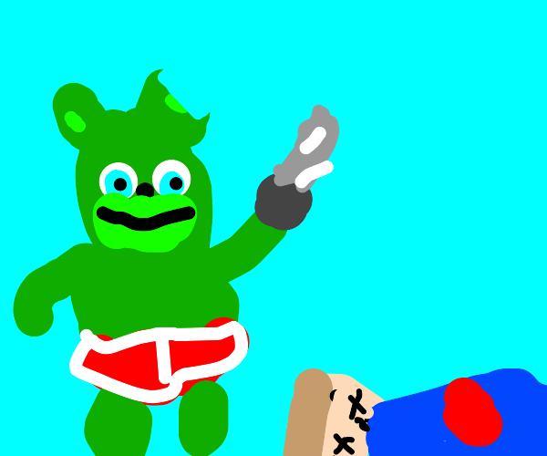 Gummy bear goes on a murdering spree again!