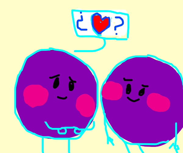 Grape asks other grape on date