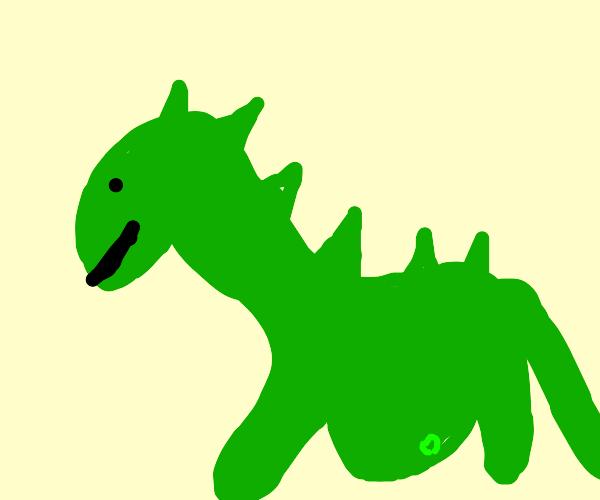Pregnant Dinosaur