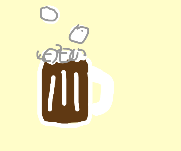 Bubbly Root beer