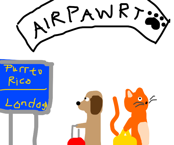 Airport for pets