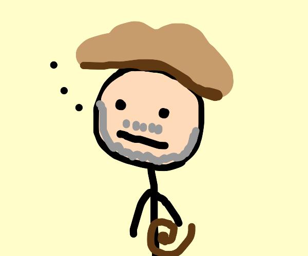 Indiana Jones judging you with his gaze