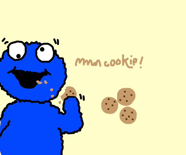 scrumptious cookies. delicious, even.