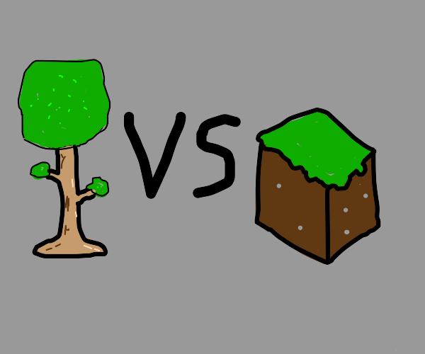 Terraria v. Minecraft, Yare yare...