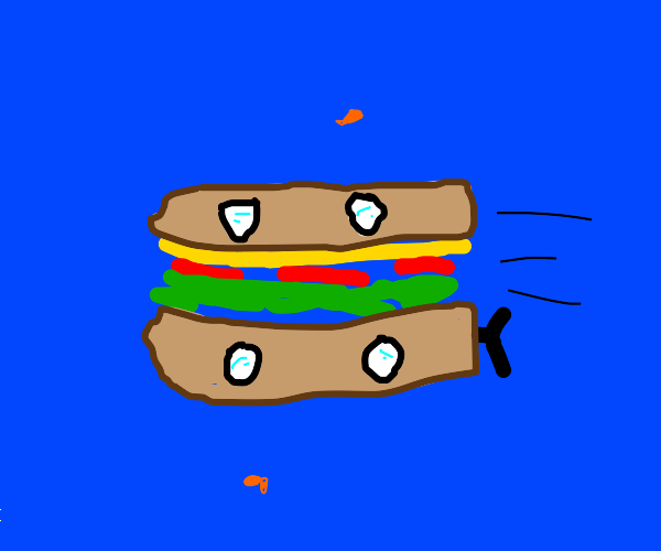 We all live in a sandwich submarine