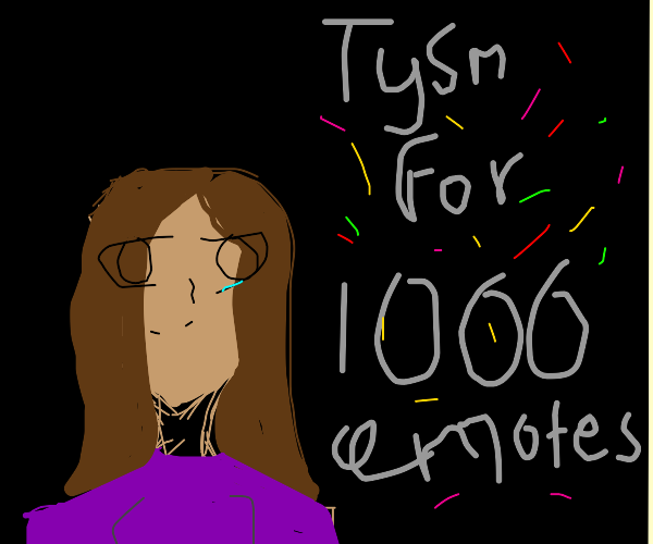 1000 emotes pog