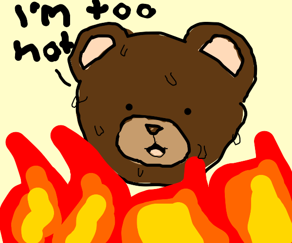 """Bear is """"To Hot"""""""