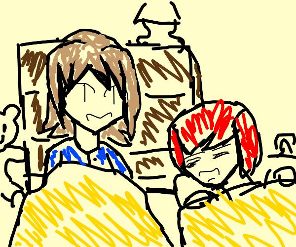 child's sleepover
