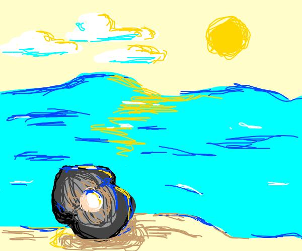 Underwater Clam