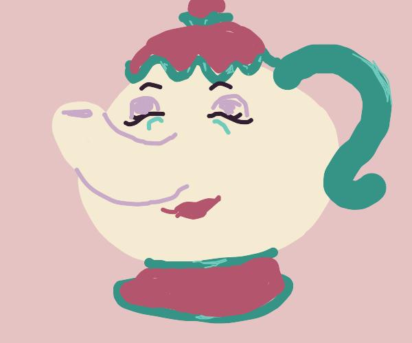 Mrs. Potts (in pot form)