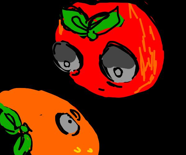 Apple threatens the Orange