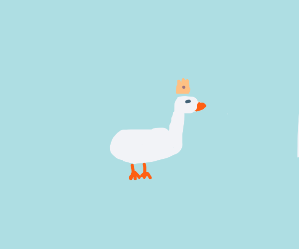 Goose is king
