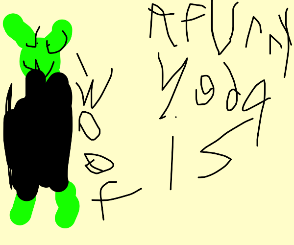 yoda becomes a furry