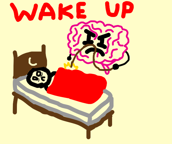 Brain keeping you awake at night