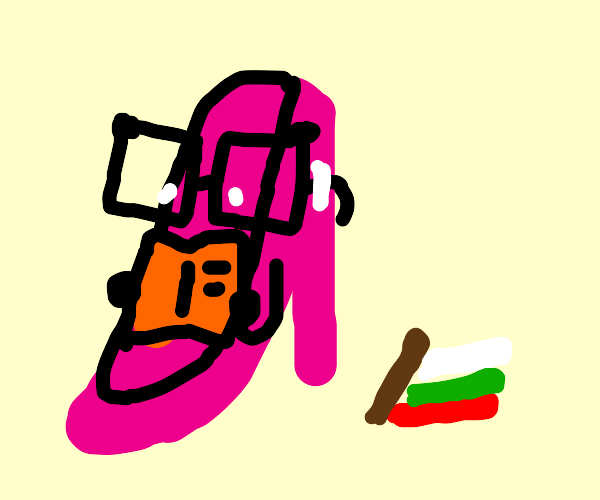 shoe with glasses