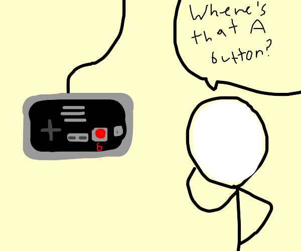 Lost Button