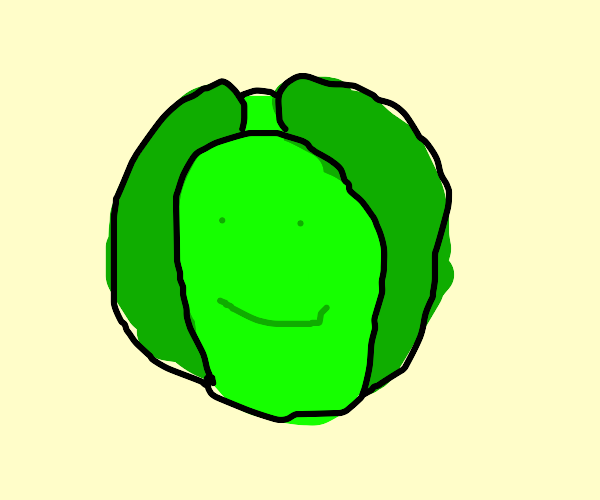 smiling cabbage
