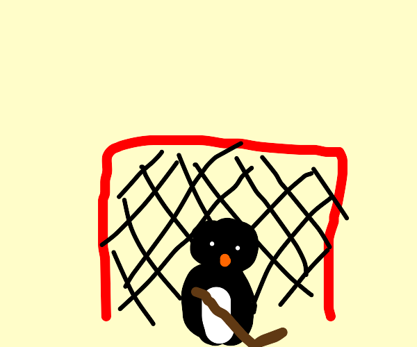 Penguin Goalie