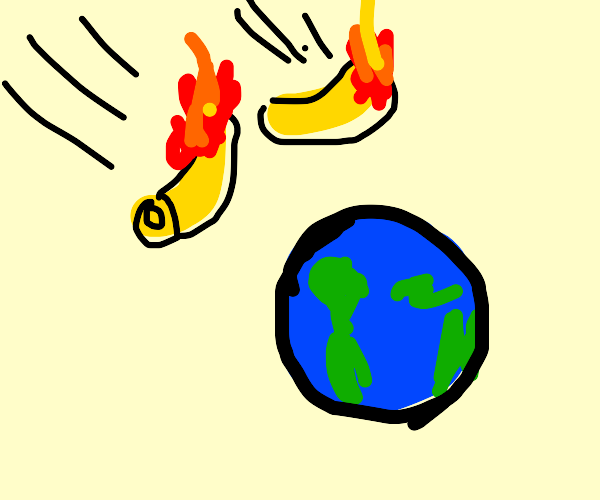 Burnin macaroni  Hitting earth