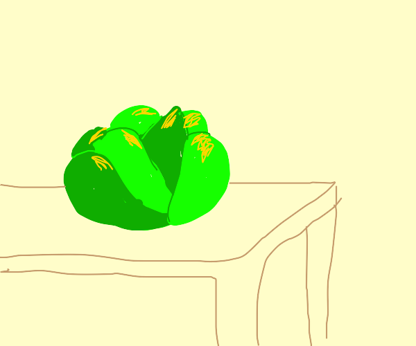 a cabbage.