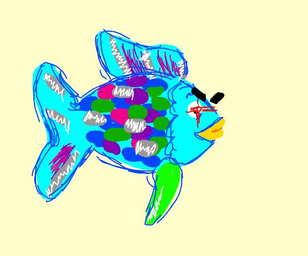 evil rainbow fish