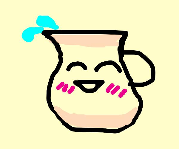 A cute jug
