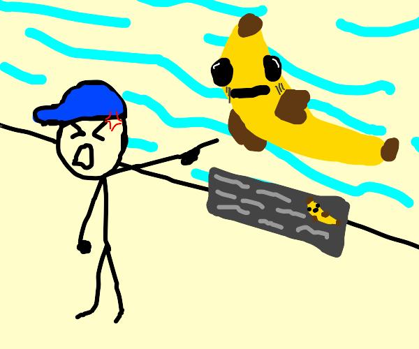 kid hates banana fish
