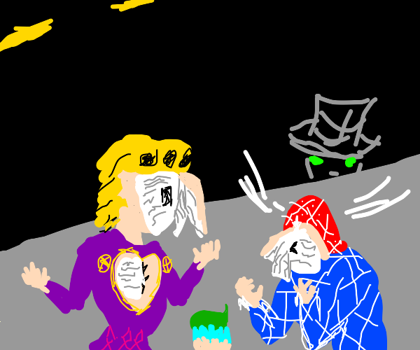 Giorno and Mista lost their faces