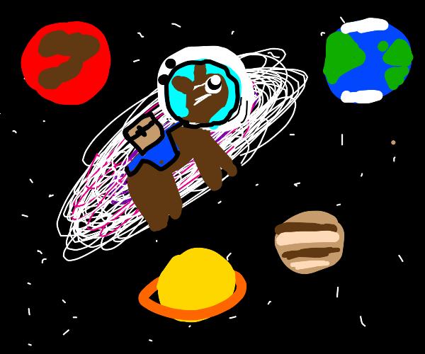 Mule in Space