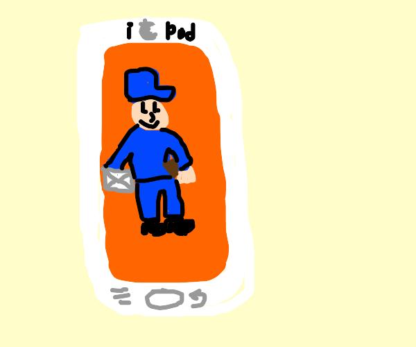 iPod Mailman