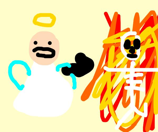 Angel goesboom