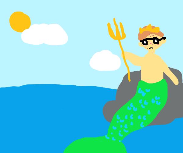 Poseidon, the awkward teen years