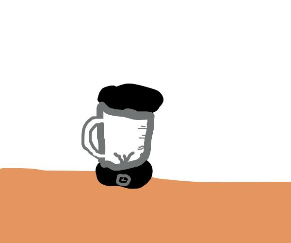 An empty blender