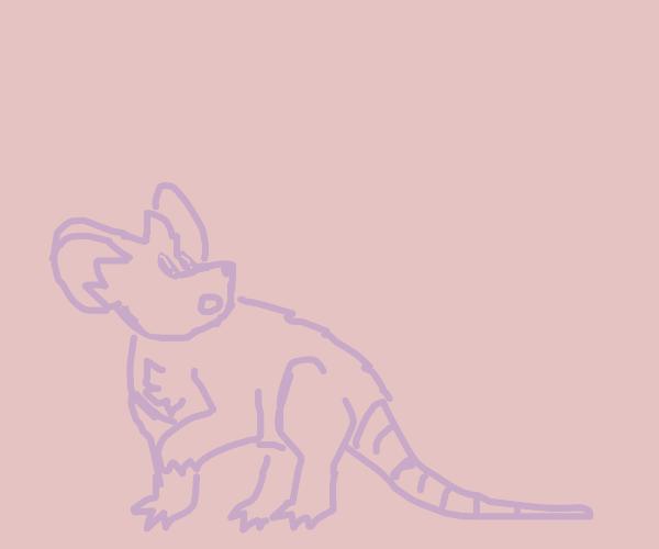 Adorable little mouse