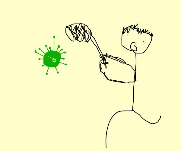 Catching a virus