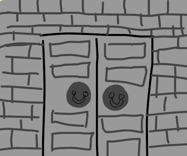 Door from 10,000 B.C.