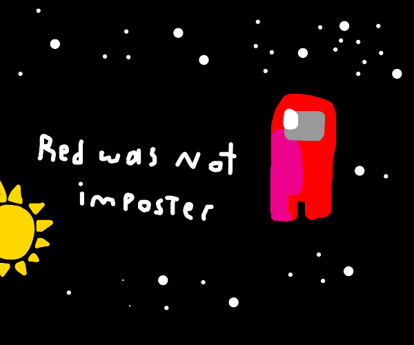 red was sus in amogus but not imposter