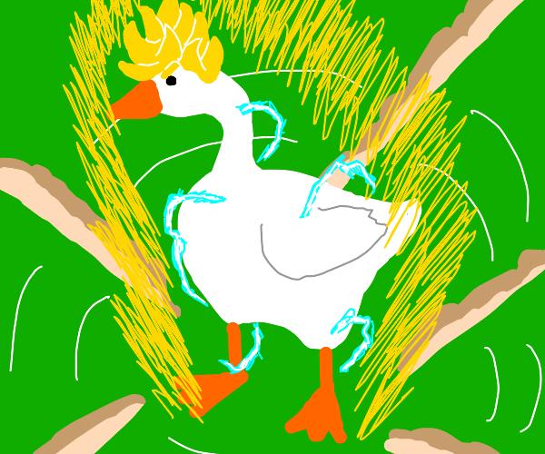 saiyan goose