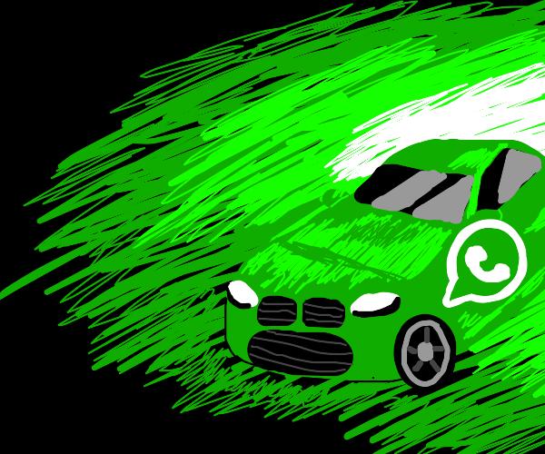 whatsapp car
