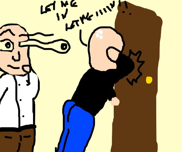 Bumping elbow on door handle PAIN