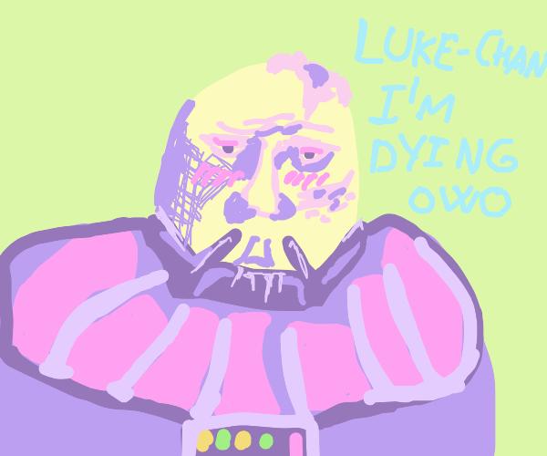 Kawaii bunny Darth Vader