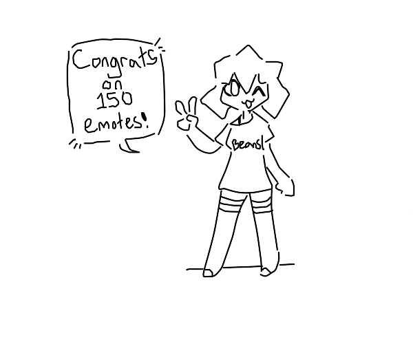 thanks for 150 emotes :D