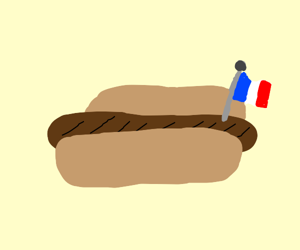french Hot dog.