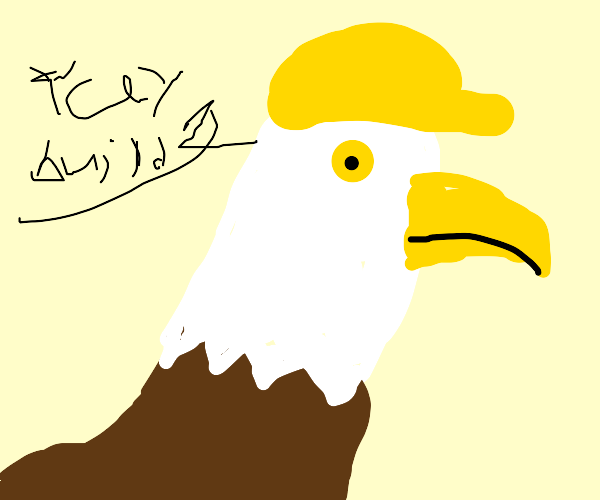 Eagle Construction Worker