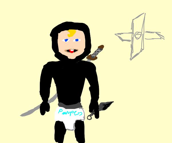da baby as a ninja
