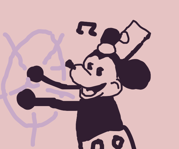 Old Mickey  mouse
