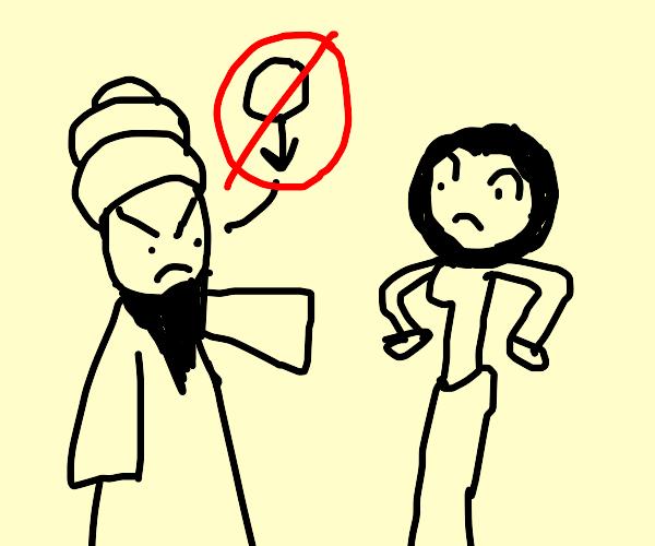 Turks hate women