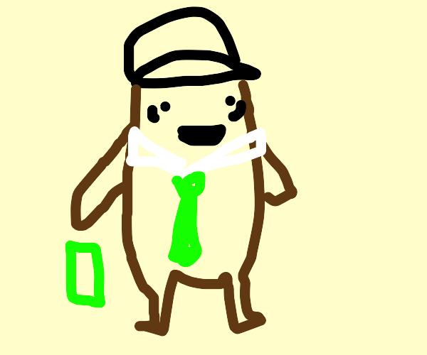 yogi bear dropping his last dollar for a dild